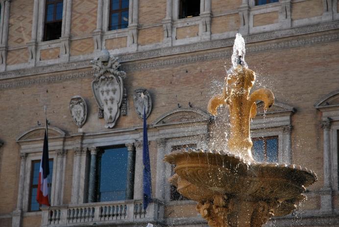Roma - fontana di Piazza Farnese (2010)