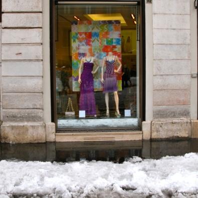 Roma - vetrine di piazza di Spagna (2012)