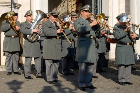 Roma - banda al Quirinale (2008)