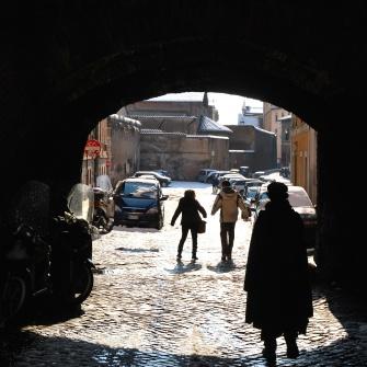 Roma - neve a Trastevere (2012)