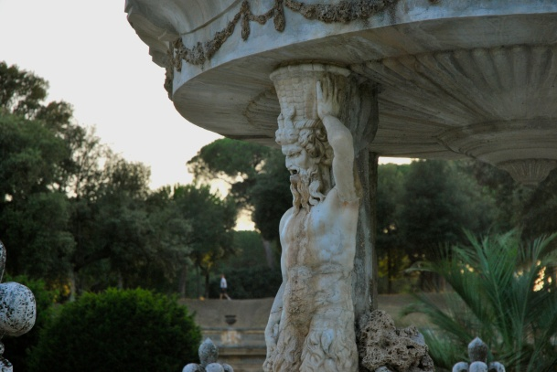 Roma - fontana a villa Pamphilj (2012)