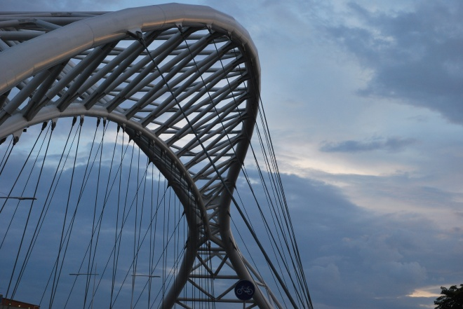 Roma - ponte su viale Ostiense (2012)
