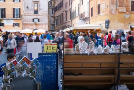 Roma - souvenir a Pantheon (2013)